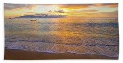Warm Ka'anapali Sunset Beach Towel