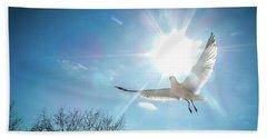 Warmed Wings Beach Sheet