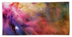 Warmth - Orion Nebula Beach Towel