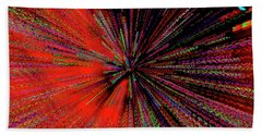 Beach Towel featuring the photograph Warp Drive Mr Scott by Tony Beck