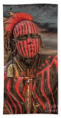 Warpath Shawnee Indian Beach Sheet