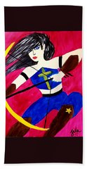 Warrior Queen  Beach Towel