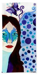 Warrior Woman, Don't Lose Hope Beach Towel