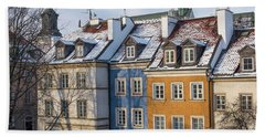Beach Towel featuring the photograph Warsaw, Poland by Juli Scalzi