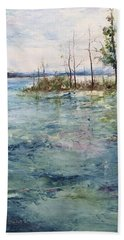 Washed By The Waters Series Beach Towel by Robin Miller-Bookhout
