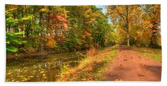 Washington Crossing Park Beach Towel