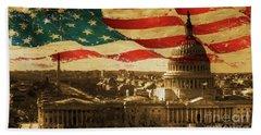 Washington Dc Usa 002 Beach Towel by Gull G