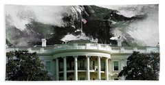Washington Dc, White House Beach Towel by Gull G