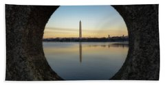 Washington Monument Beach Towel
