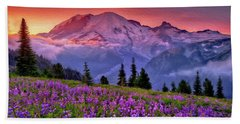 Washington, Mt Rainier National Park - 05 Beach Towel