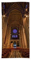 Washington National Cathedral Crossing Beach Towel