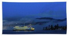Washington State Ferry Hyak Beach Towel