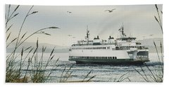 Washington State Ferry Beach Sheet