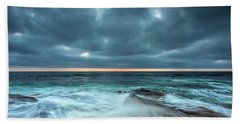 Washover Beach Sheet by Peter Tellone