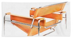 Wassily Chair Mid-century Modern Beach Sheet by Edward Fielding