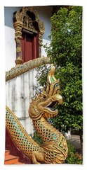 Beach Towel featuring the photograph Wat Chiang Chom Phra Wihan Naga Dthcm0892 by Gerry Gantt