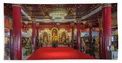 Wat Pa Dara Phirom Phra Chulamani Si Borommathat Interior Dthcm1607 Beach Towel