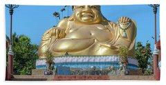 Wat Piyaram Wealth Luck Buddha Shrine Dthcm1233 Beach Towel