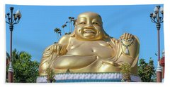 Wat Piyaram Wealth Luck Buddha Shrine Dthcm1233 Beach Towel