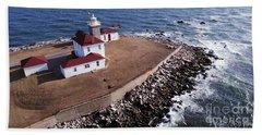 Watch Hill Lighhouse Beach Towel