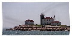 Watch Hill Lighthouse II Beach Towel