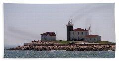 Watch Hill Lighthouse II Beach Sheet