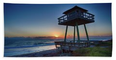 Watch Tower Sunrise 2 Beach Towel