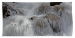 Water And Stone- Dance Of The Elements Beach Towel
