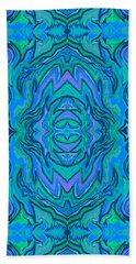 Water Art Pattern  Beach Towel