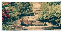 Beach Towel featuring the photograph Water Creek by Sheila Mcdonald