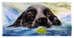 Water Dog Beach Towel