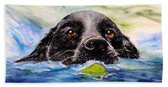 Water Dog Beach Sheet