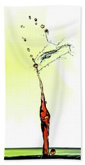 Water Drop #6 Beach Towel