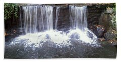 Water Fall  Beach Towel