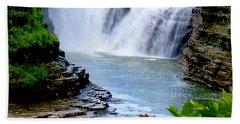 Water Falls Beach Towel