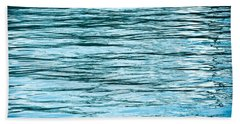 Water Flow Beach Towel