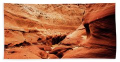 Beach Towel featuring the photograph Water Holes Canyon  by Norman Hall