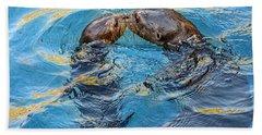 Water Kisses Beach Towel