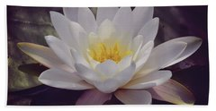 Water Lily Beach Towel