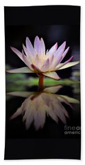 Beach Towel featuring the photograph Water Lily by Savannah Gibbs