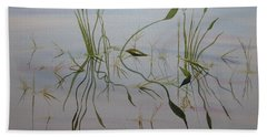 Water Music Beach Towel