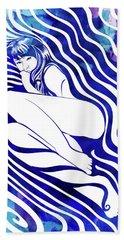 Water Nymph Vii Beach Towel