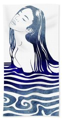 Water Nymph Viii Beach Towel