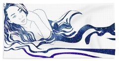 Water Nymph Xiii Beach Towel