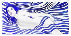 Water Nymph Xiv Beach Towel