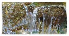 Water On The Rocks Beach Sheet
