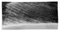 Water Ripples 1 Beach Sheet by Glenn Gemmell