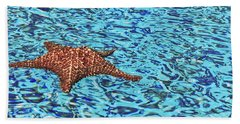 Water Ripples Beach Towel