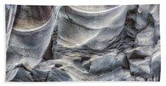 Water Sculpting Rock Art By Kaylyn Franks  Beach Sheet