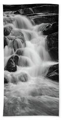 water stair close to the Heinrich Heine hiking way, Harz Beach Towel
